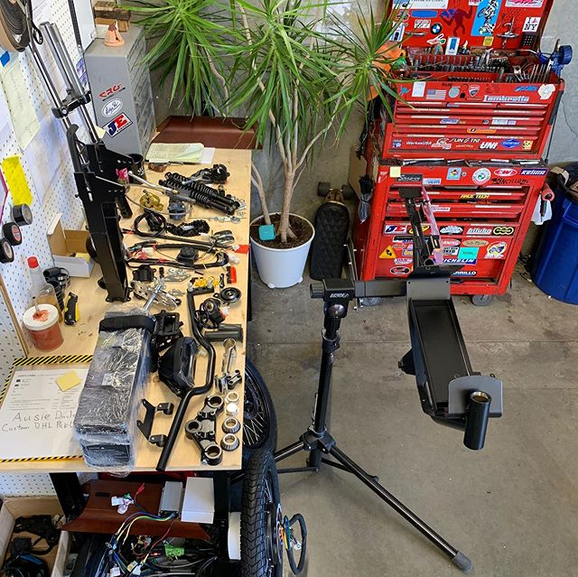 ⚡️ Electric Moped ⚡️ build photos 6/2019 get ready to for some review time @mopedrich