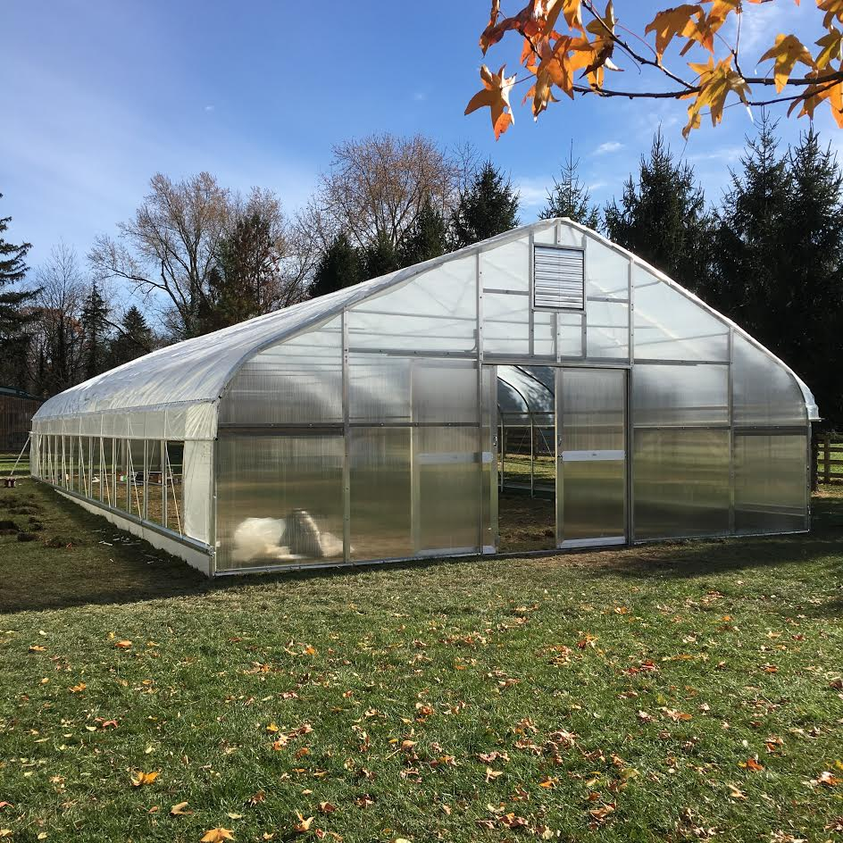 Our hoop house will look similiar to this