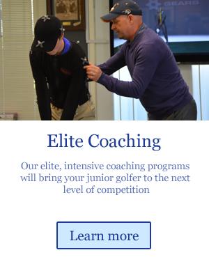 elite coaching for junior golfers