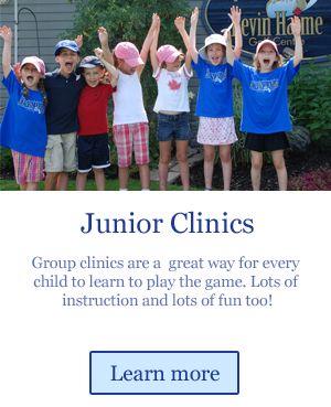 junior golf clinics are a fun way to learn golf