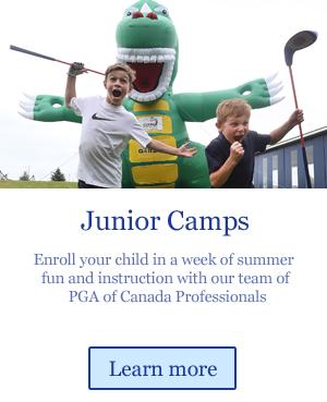 junior golf camps for summer golf instruction