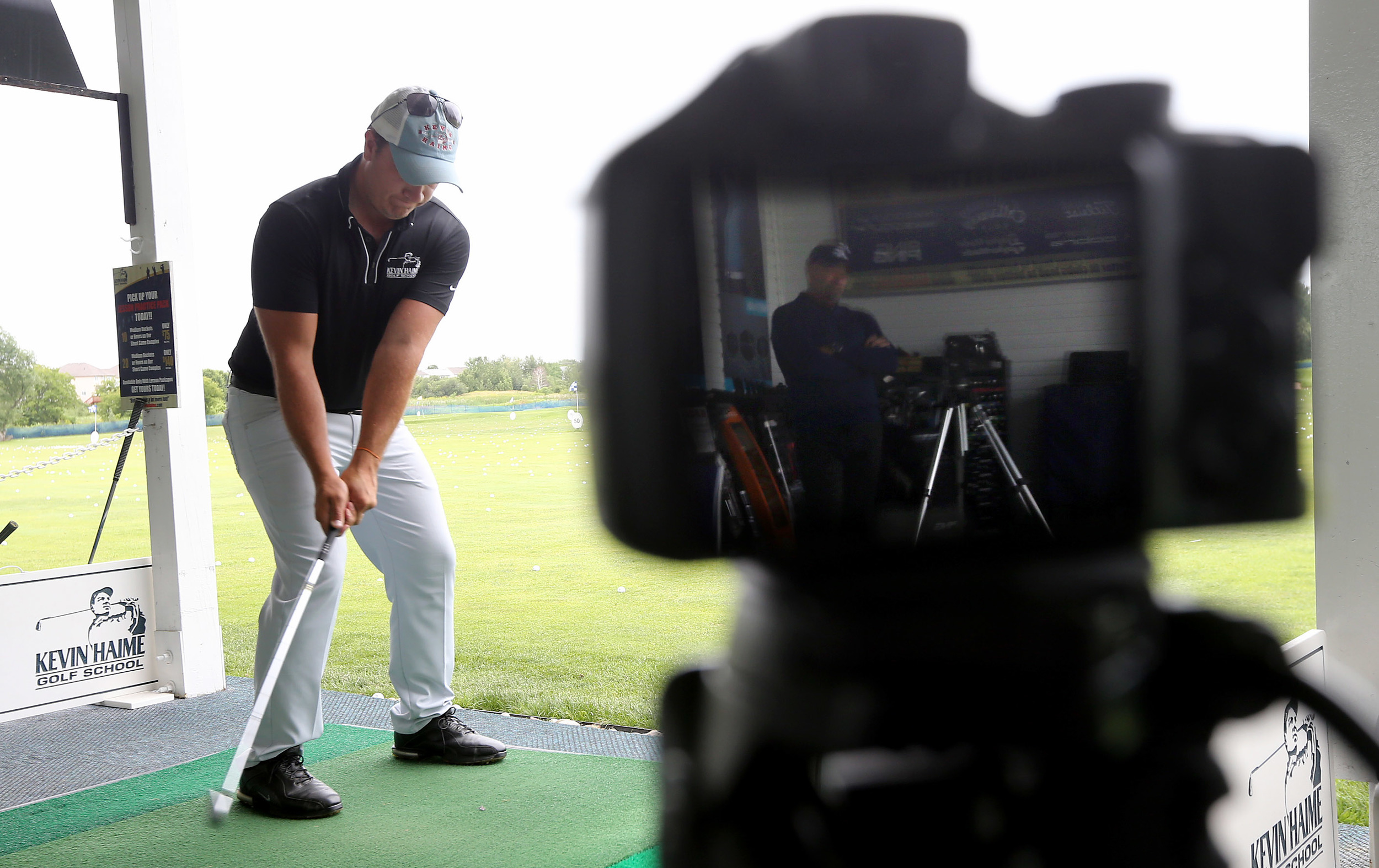 Video analysis of Golf Swing