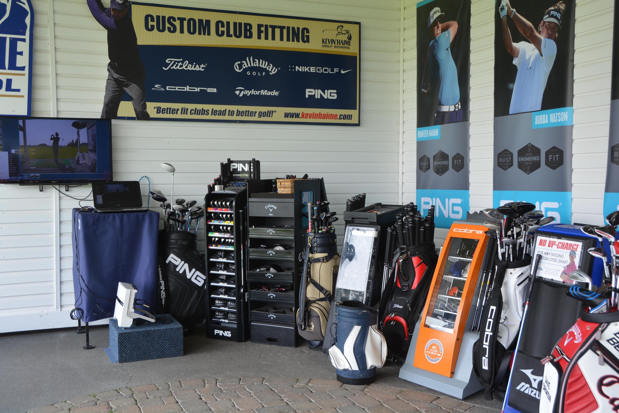 Custom club fitting in Kanata and Ottawa