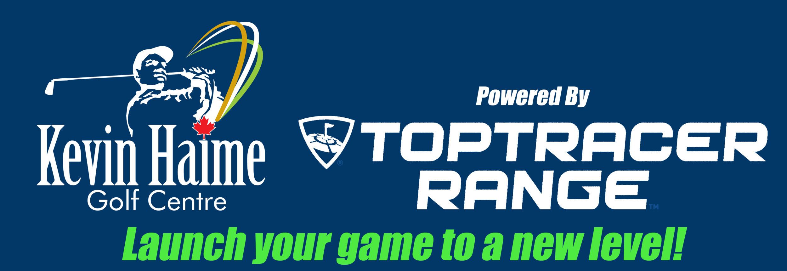 Launch your game to a new level with Top Tracer range