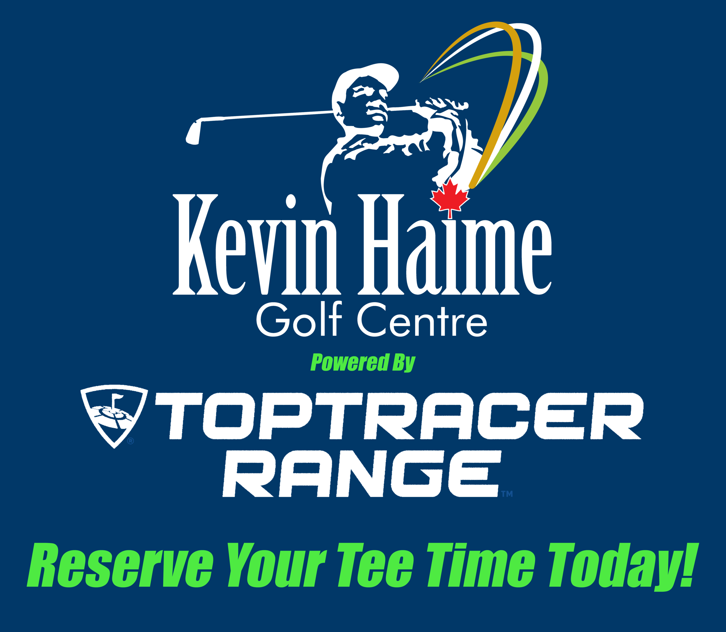 Reserve your tee time today for golf tracking top tracer range