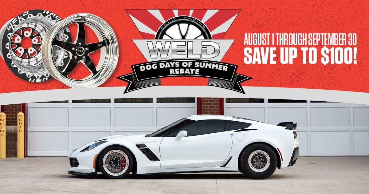 Weld Dog Days of Summer Rebate 2016