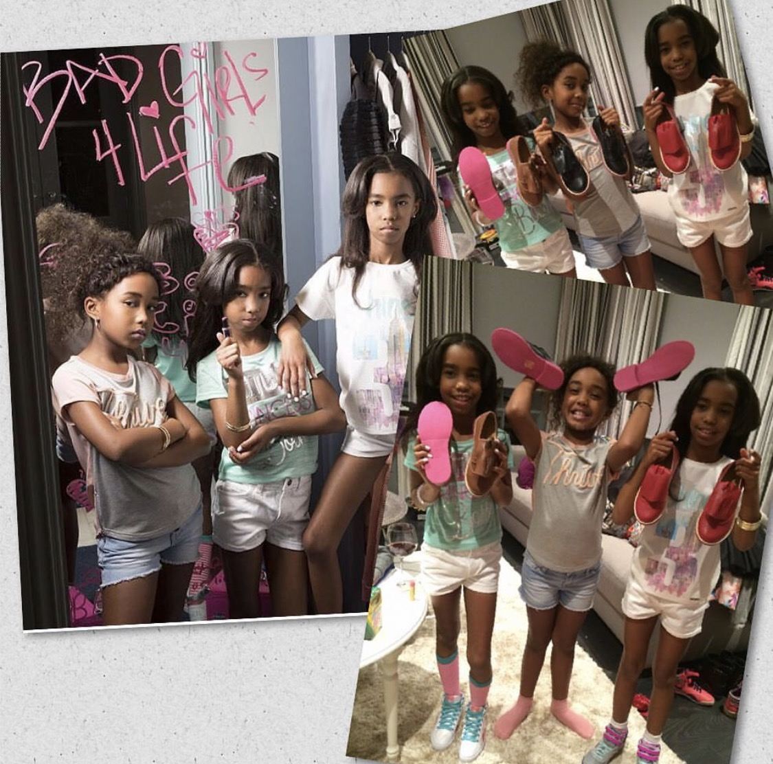 "Daughters of Sean ""Diddy"" Combs"