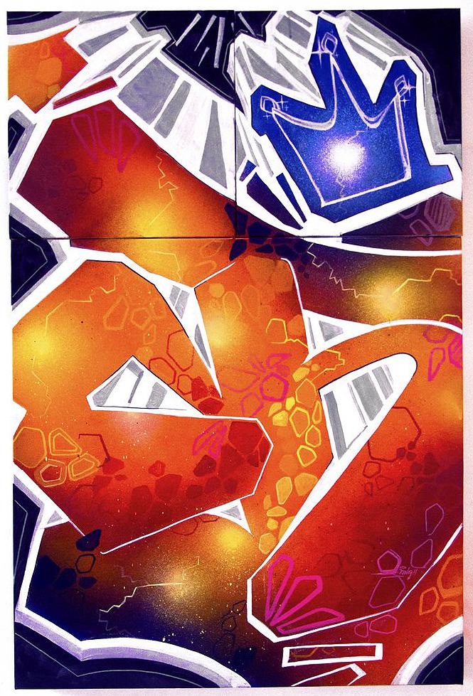 Galactic, 24X36, 2013