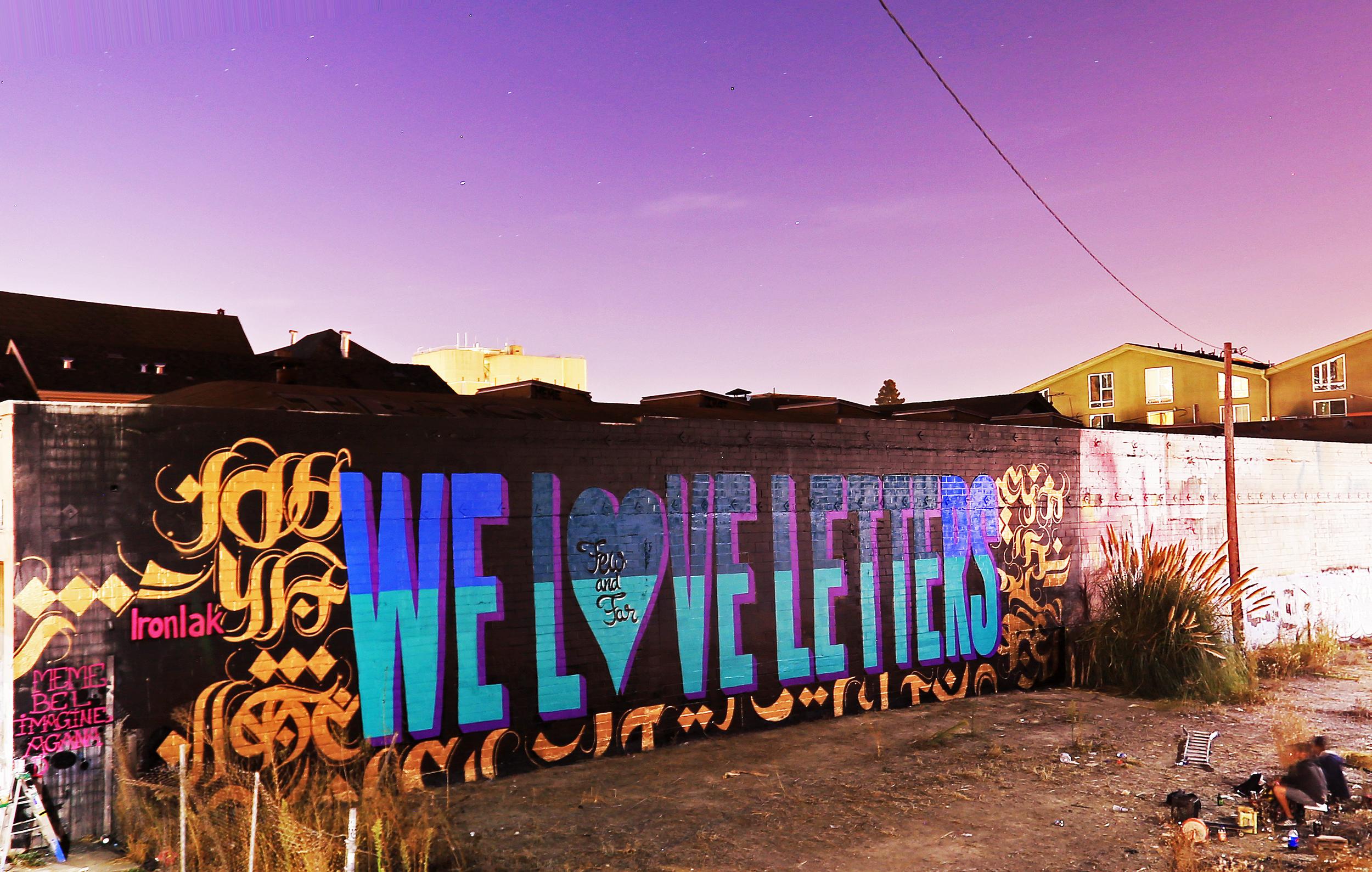WeLoveLetters, California, 2015