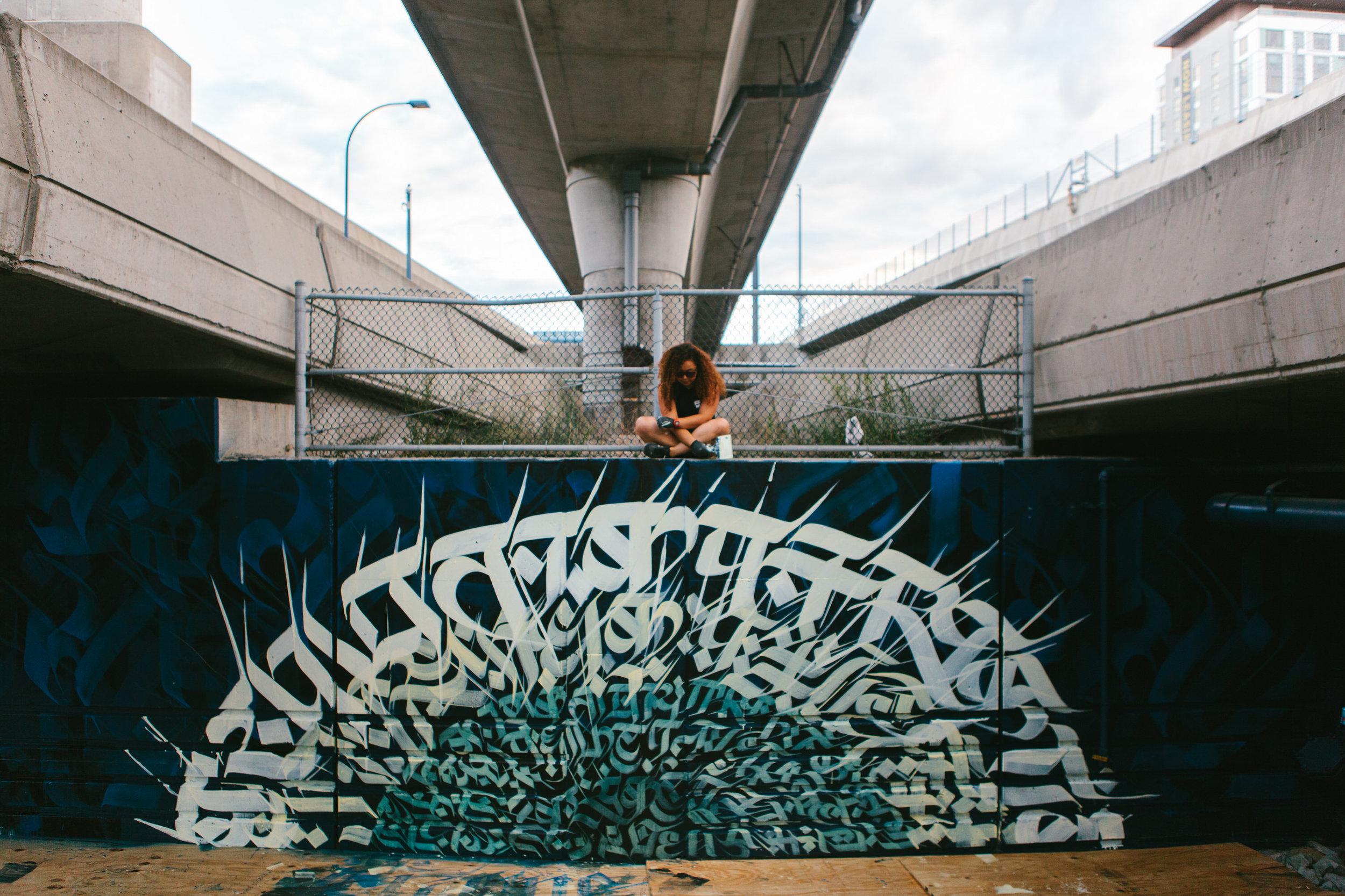 Underground Mural Project, Boston, 2017