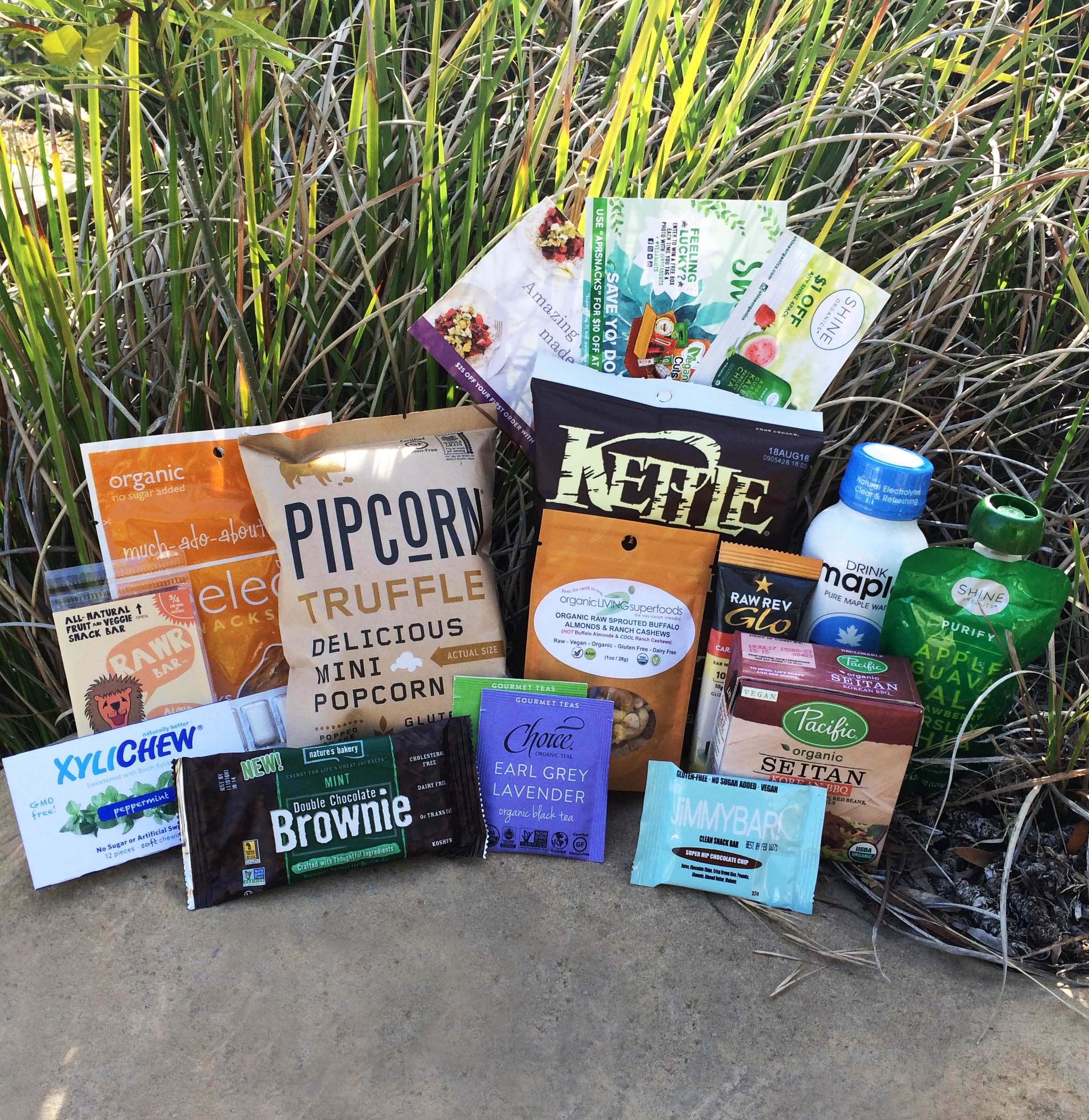 April Snack Box