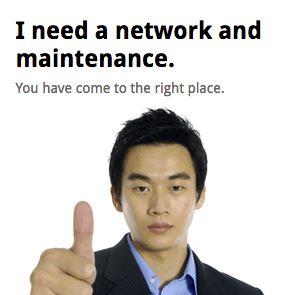 computer network maintenance