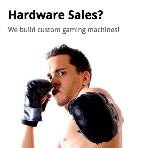 computer hardware sales
