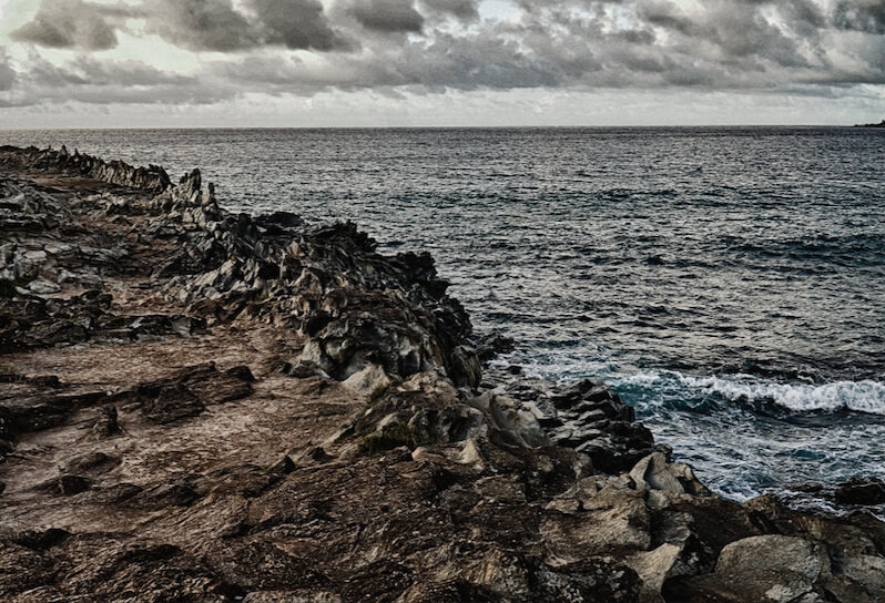 Dragons Teeth  - Makaluapuna Point Lahaina, Maui, HI July 2019  By Helen Collen (contact for pricing)