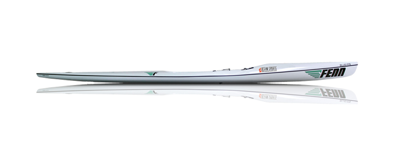 SS20---Fenn Bluefin: 19.35 feet long X 20.86 inches wide
