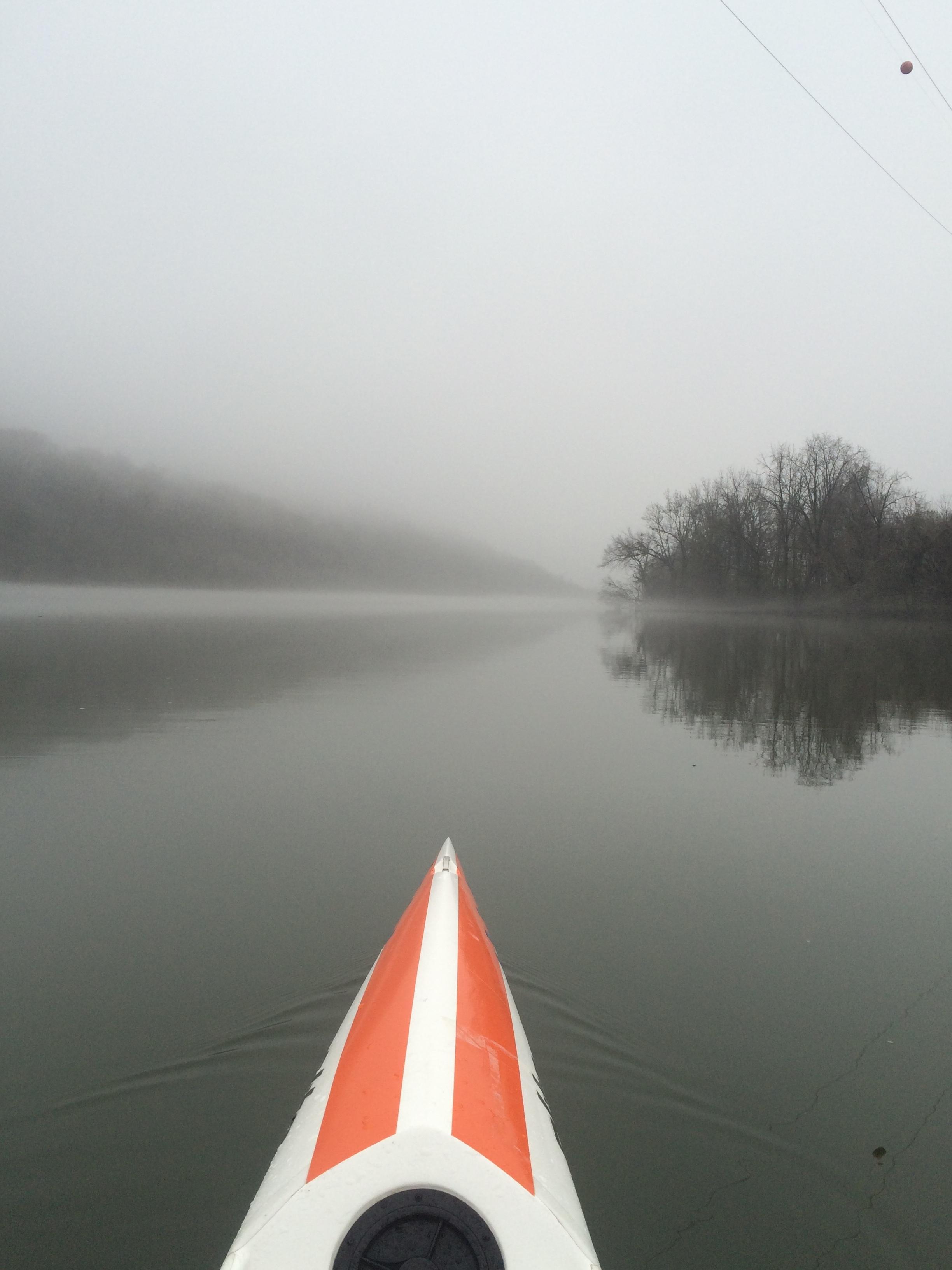 Williams' Island in the Fog