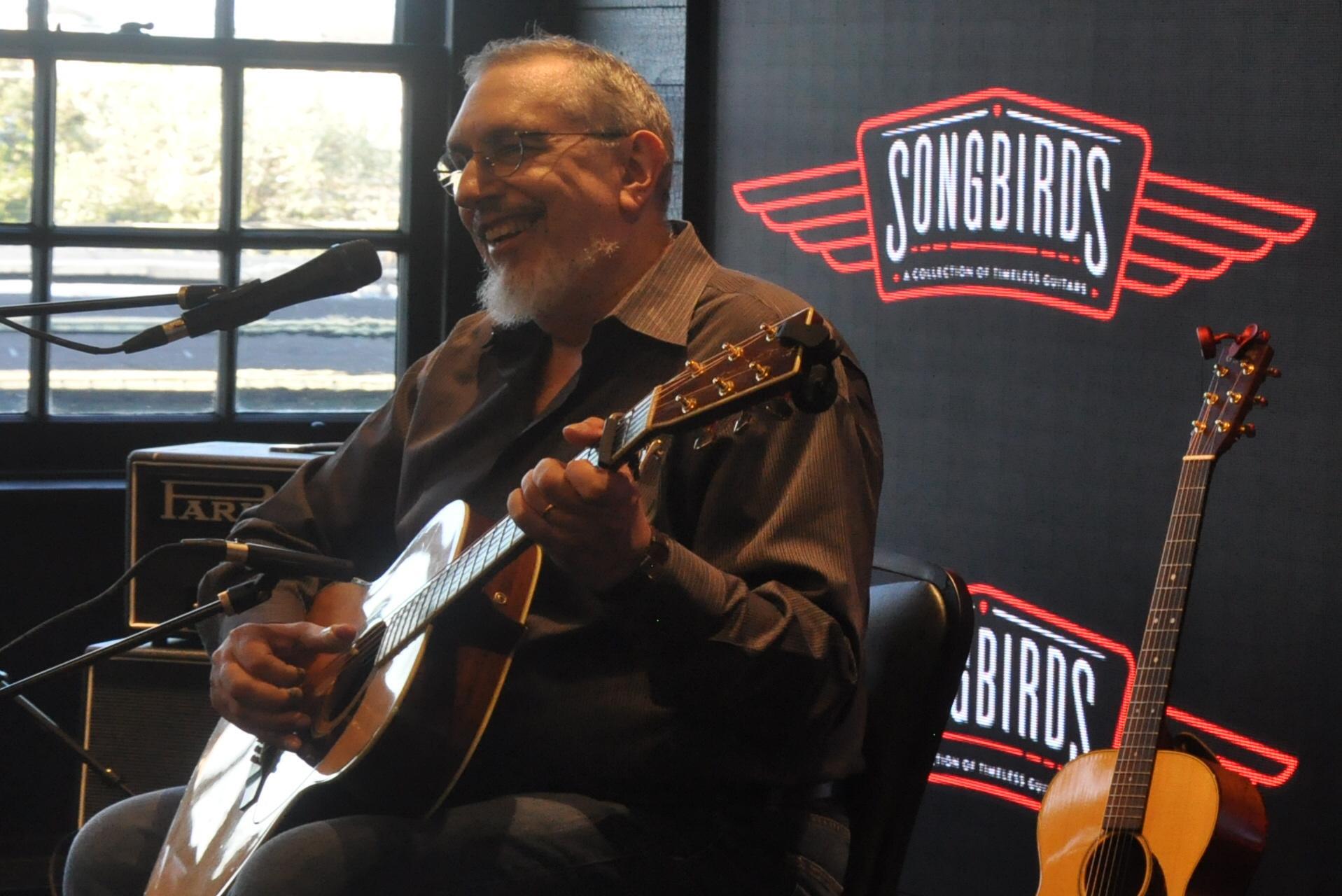 Who doesn't love guitars? Songbirds celebrates the Axe.