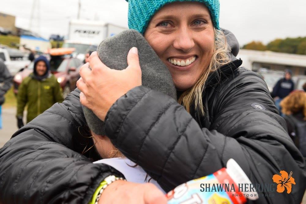 Kata hugging Lindsey  Photo Credit Shawna Herring