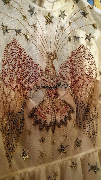 beaded eagle embelishment