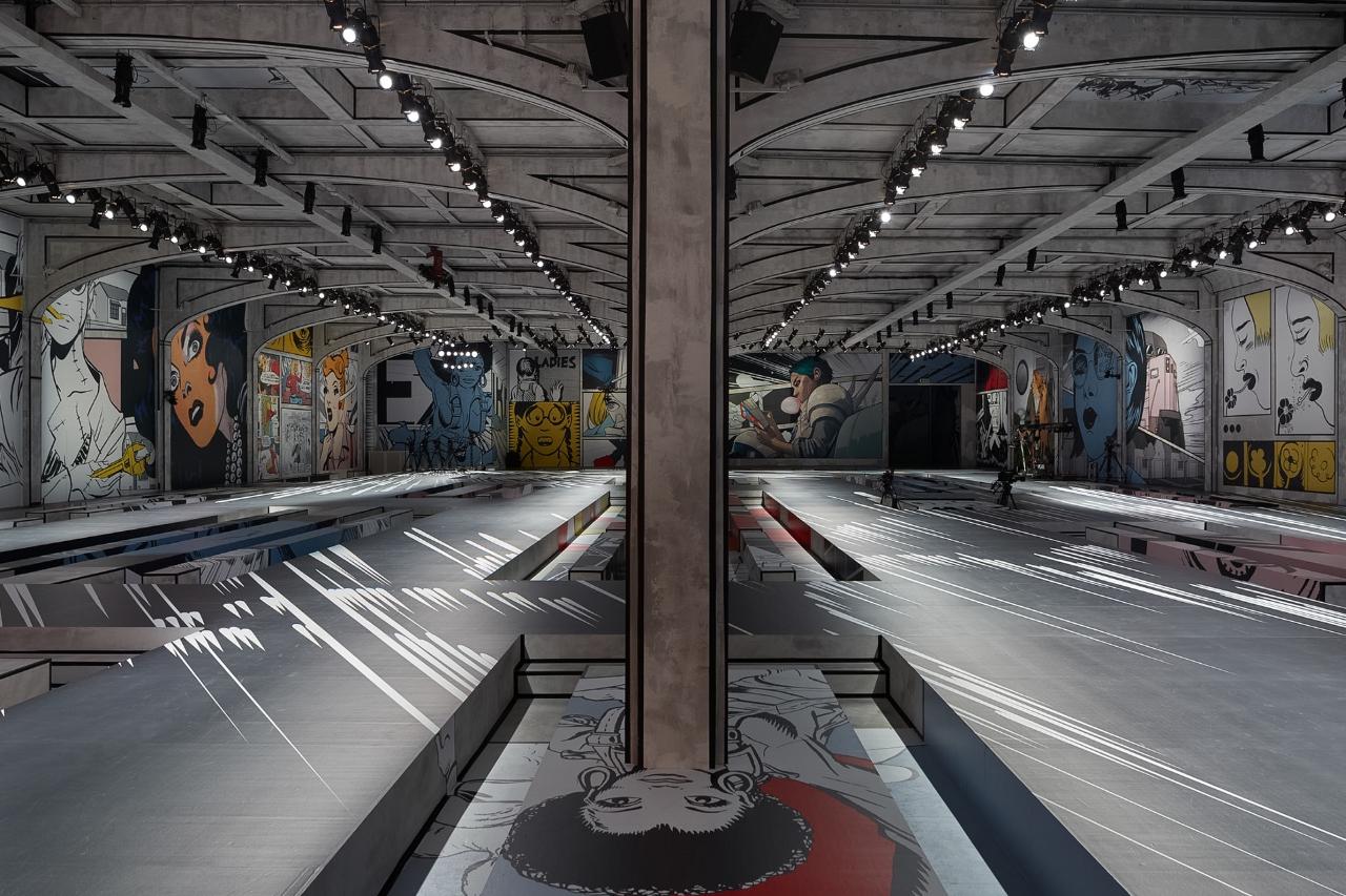 The Showspace, via Prada.com