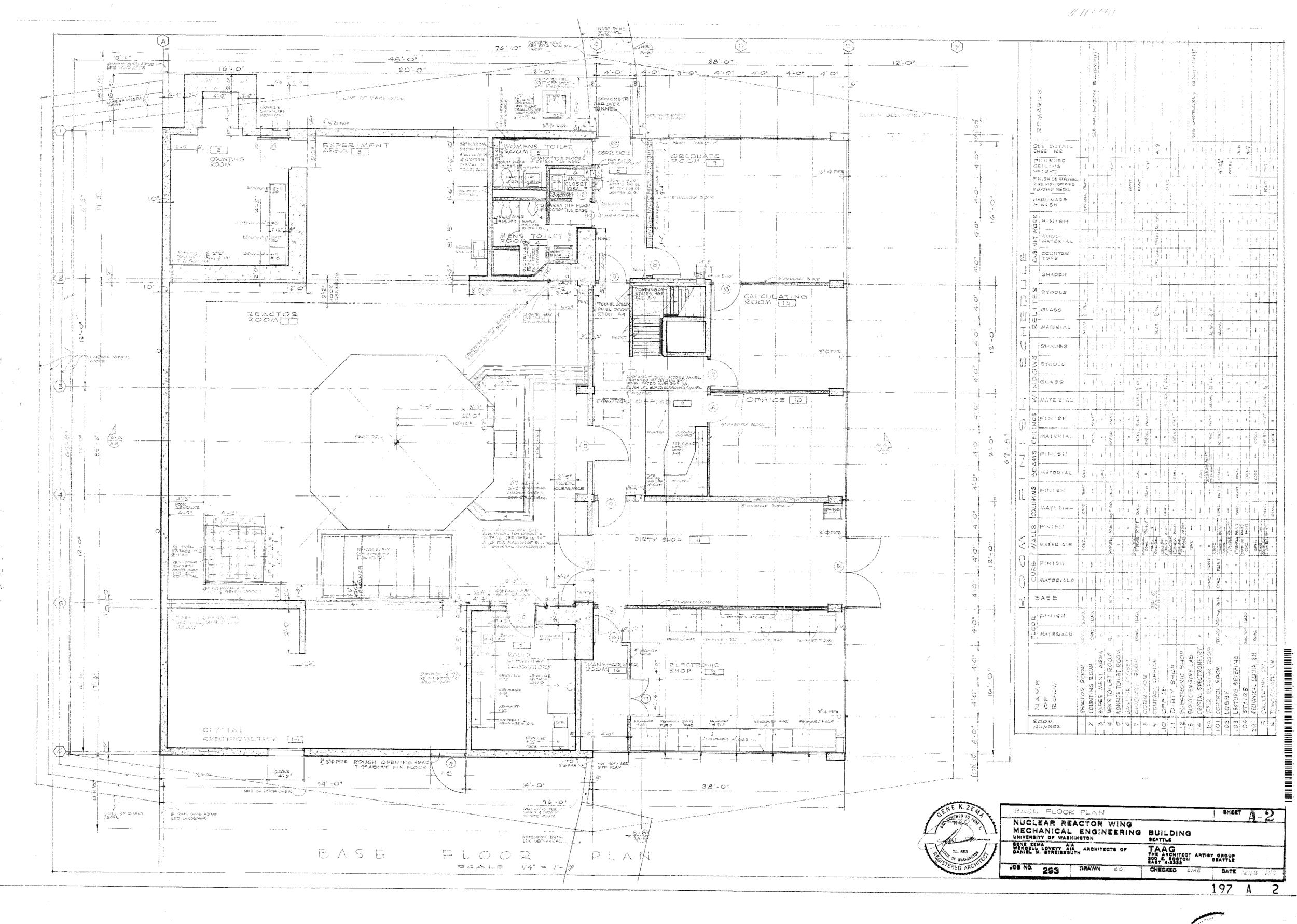 Nuclear Reactor Building - Base Floor Plan