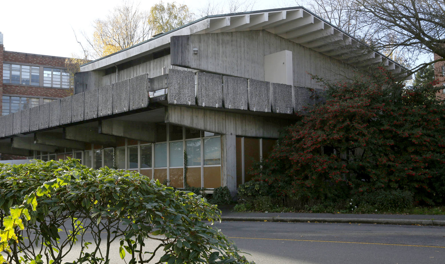 More Hall Annex, on the University of Washington campus in Seattle, housed a nuclear reactor from 1961 until the reactor was decommissioned in 2007. (Ken Lambert/The Seattle Times)