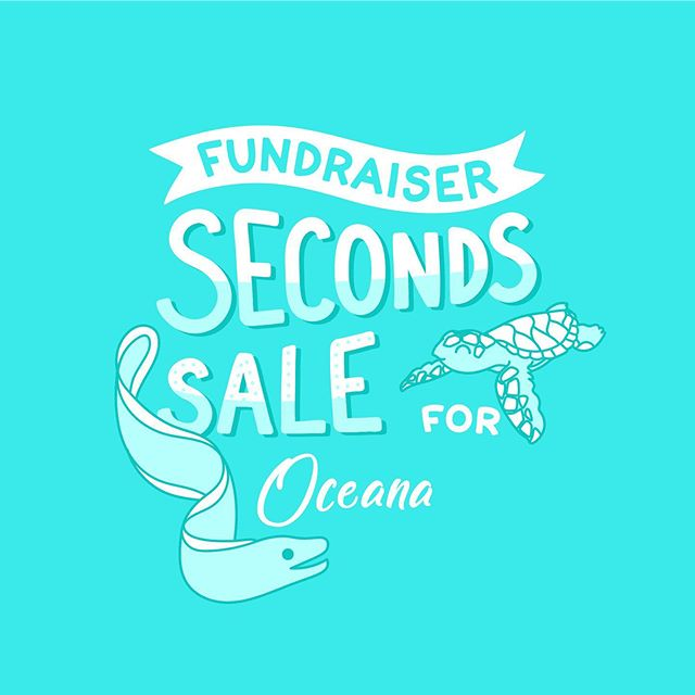 Seconds sale! I've teamed up with a small group of artists to raise money for Oceana to help protect the world's oceans. All weekend long, we are donating 100% of our profits on seconds (imperfect pins) to Oceana. Snag some discounted pins and support a great cause!  Check out all the participating shops: @ashcostudio @brandybingham @cindyyshaw @daniellevdesigns @eelbunny @finpinshop @ilootpaperie @leo.mainecoon @lilboatboutique @majestyandfriends @mimosastudio @mochibear.studio @ohjessicajessica @owlandbearstudio @shopshoal @sunshine_jo @teathoughts