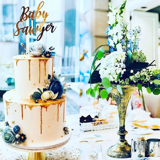 So why was I practicing florals? Because @sheshap had me make some paper goodies including this cake topper! So glad I got to contribute to this gorgeous baby shower for @freschandfancy � I love everything about event design, so hit me up if you guys ever need anything fun made! ��� Repost: @freschandfancy  Cake: @xo_cakery  Florals: @sohrabi_pegah ��� #cricut #cricutmade #caketopper #babyshower #babyshowerdesign #eventdesign #partyplanner #dfwevents #hotelcrescentcourt