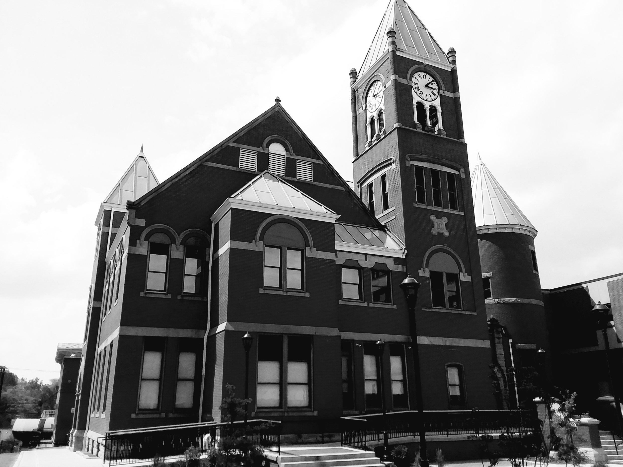 """Morgantown Court House,"" David Morgan"