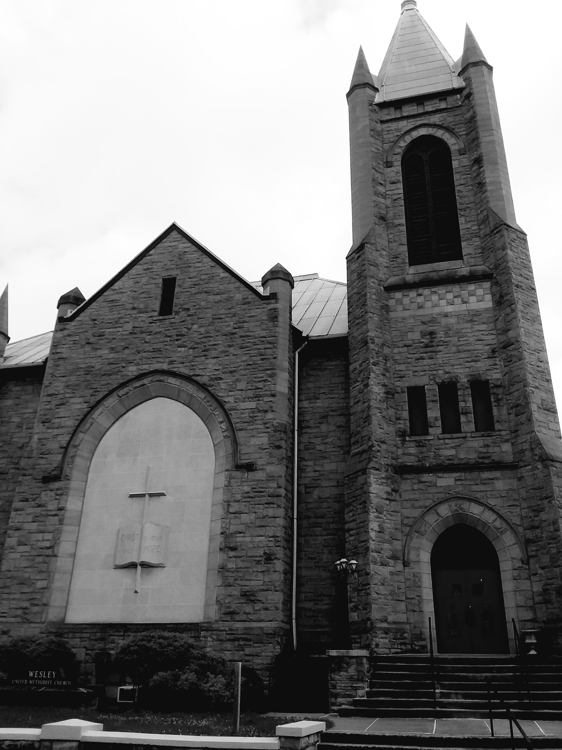 """Top of High Street Church,"" David Morgan"