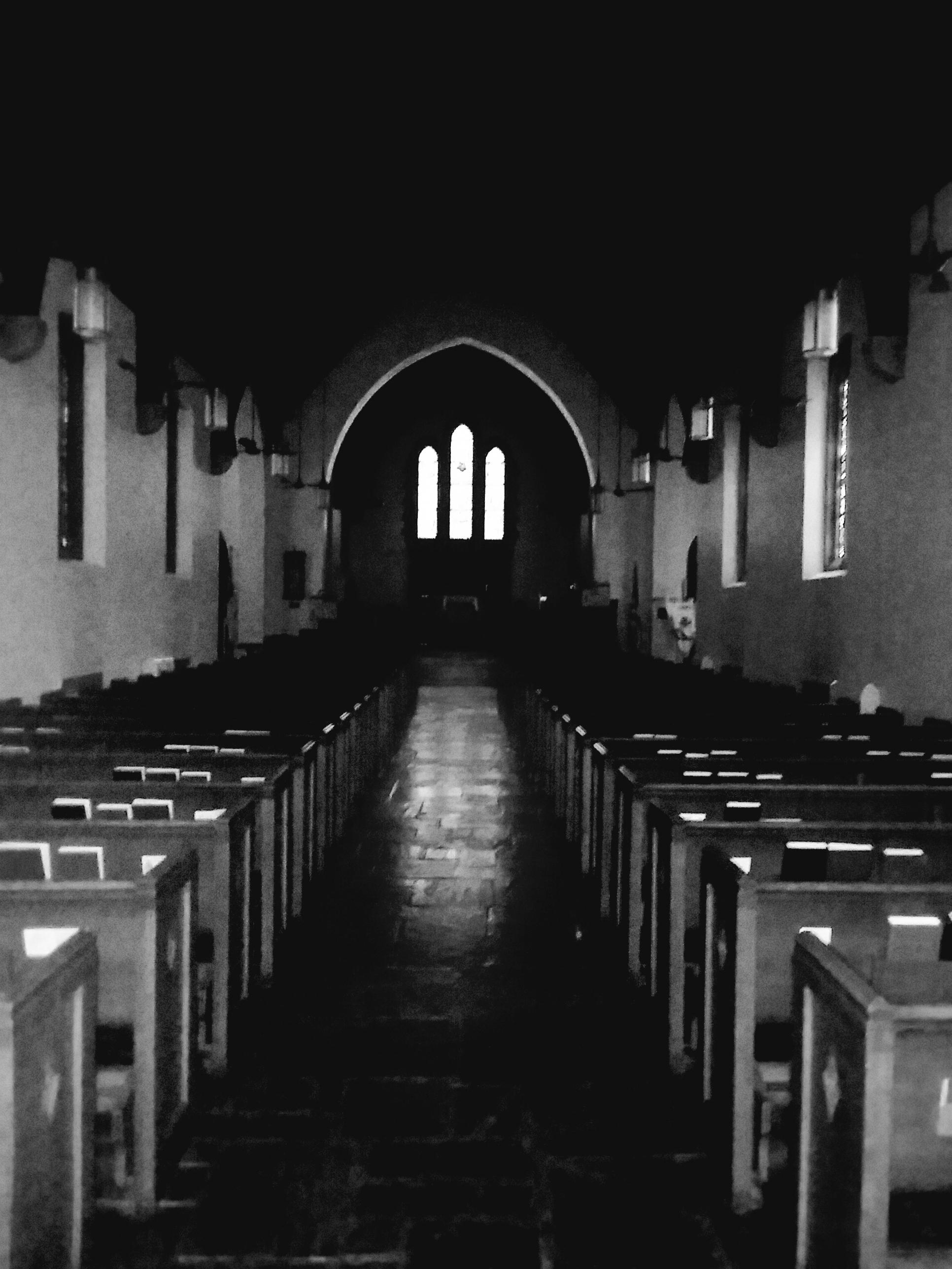 """Inside the Red Door Church,"" David Morgan"