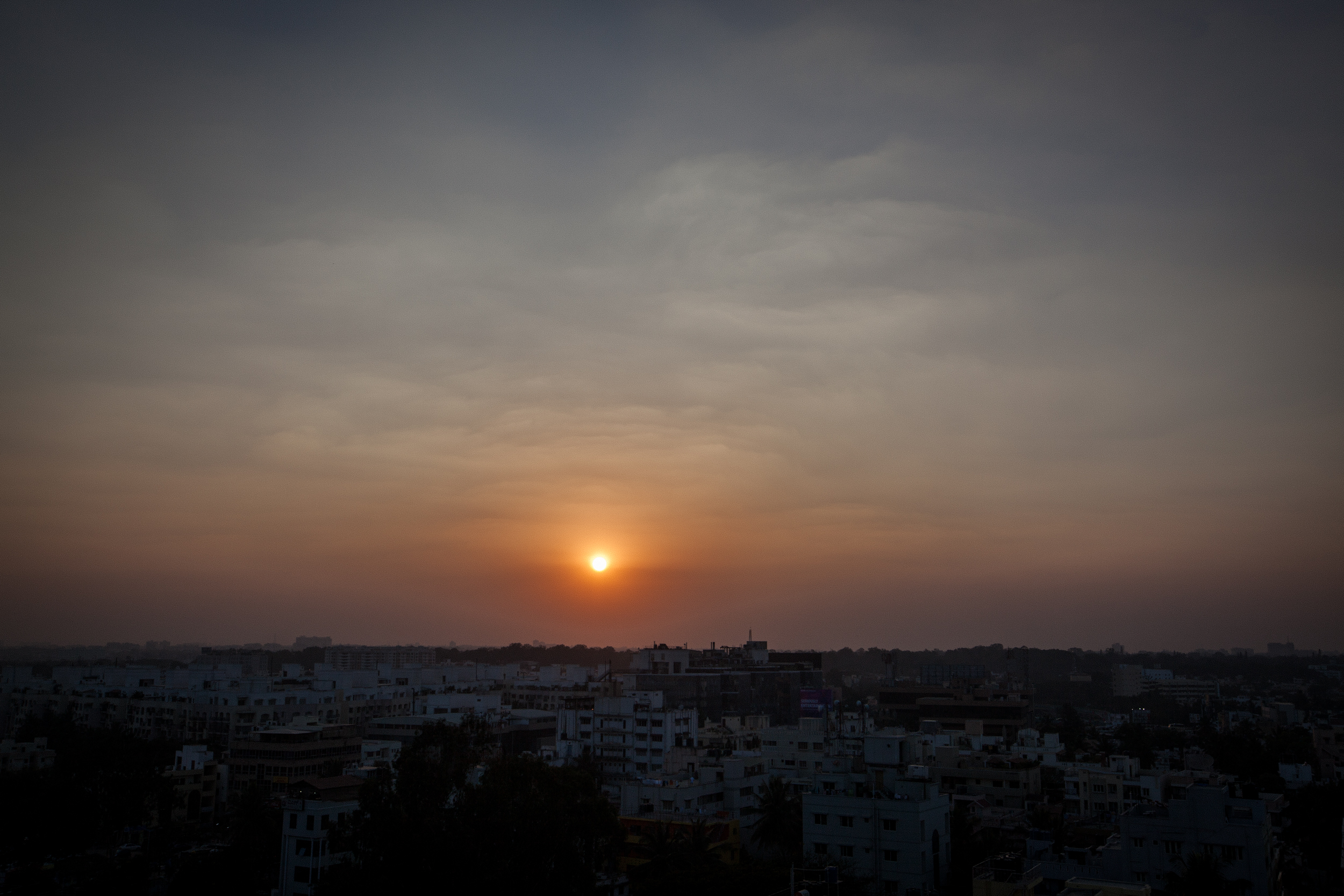Dawn, Bengaluru, India