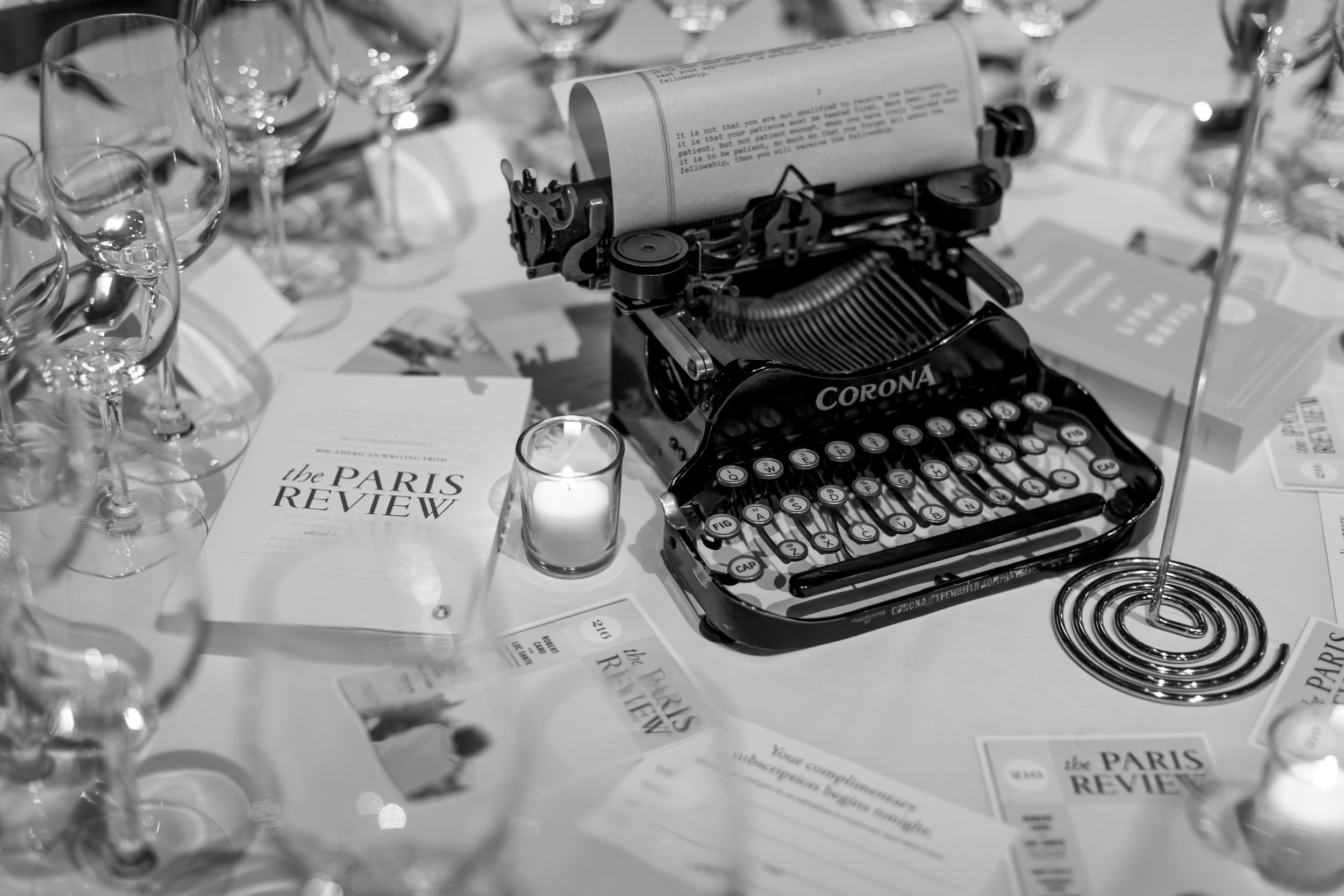 Paris Review Gala | Cipriani 42nd Street, NYC