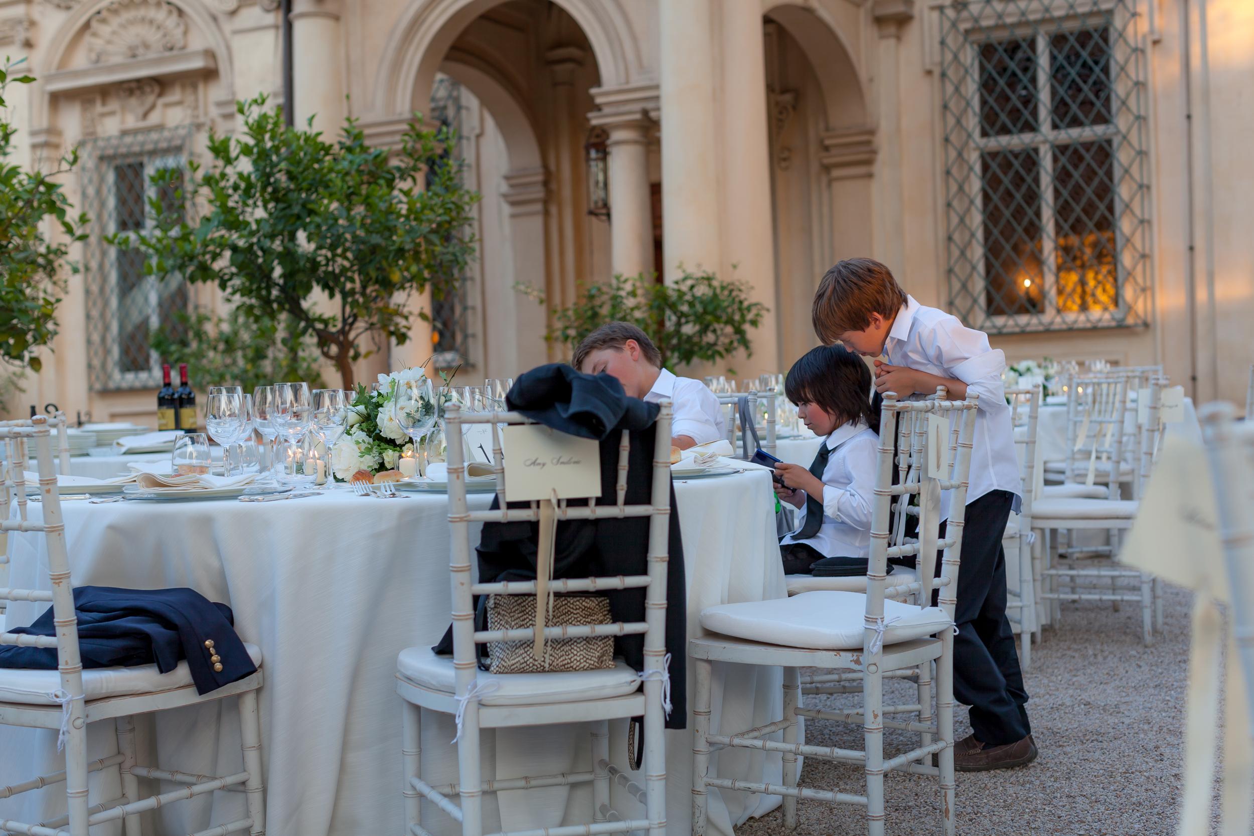 Wedding Reception | Villa Aurelia, Rome, Italy