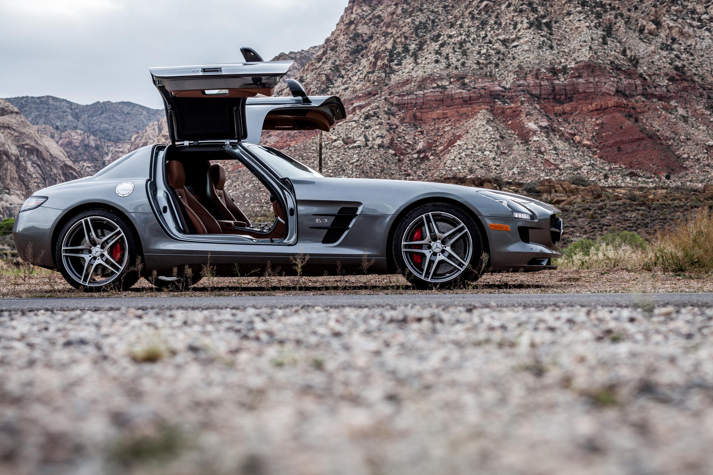 SLS AMG | Red Rock Canyon, Nevada