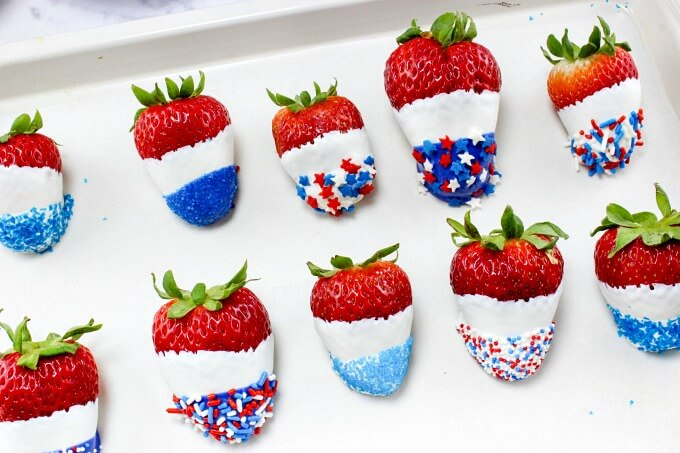 Fruit 4th Of July