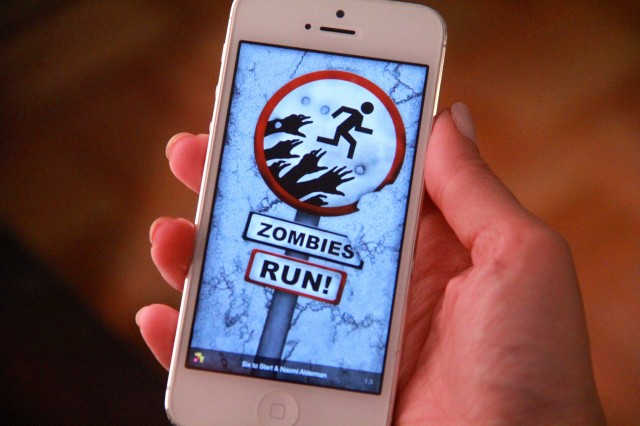 1.) Zombies, Run! - Enjoy jogging outside, but want to add a little fun to your run? Thanks to this app, running or jogging will never be boring again. Zombies, Run! is an app which combines playing video games and working out. As you run, you get to keep humans safe from zombies, collect materials for your camp, and carry out important missions. It's no wonder that this app became the highest-grossing health app on iTunes. And, of course, it is also available for Android phones.
