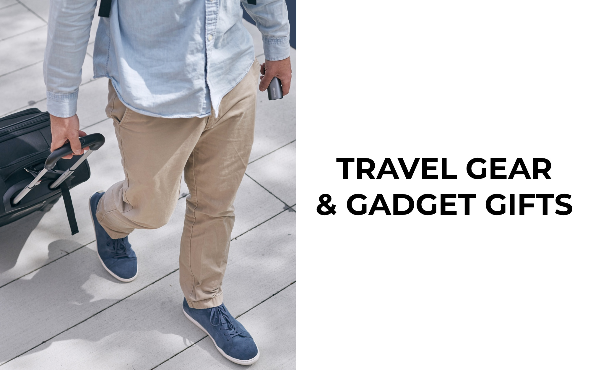Travel Gear and Gadget Gifts