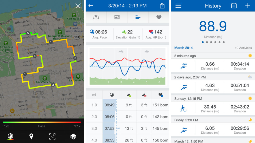 16. Runtastic - Whether you're training for a marathon, or just trying to beat your best mile time, Runtastic is the best app for runners. Runtastic lets you track your runs, including distance, duration, calories burned, and more. You can also track your performance over time, compete with friends, and find local running routes that are sure to challenge you. Share your best times on Facebook to keep yourself accountable and motivated!