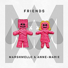 Dance Song of the Year - Friends by Marshmello and Anne-MarieRowkin Rating: ⭐⭐⭐⭐(4)