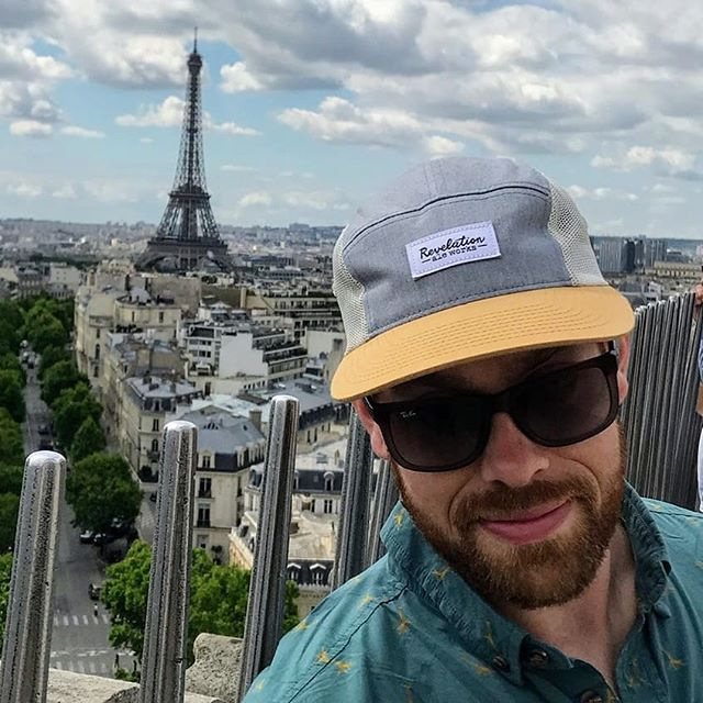 Whoa, Revelation at the Eiffel Tower! Thanks for representing over seas Graeme! . . . #itsarevelation #revelationaleworks #eiffeltower #paris #france #mnbeer #mncraftbeer #craftbeer #minnesota #hallock