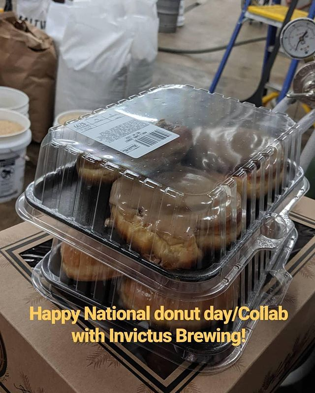 Collaboration with @invictusbrewingco and it happens to be National Donut day!!! . . . #itsarevelation #revelationaleworks #invictusbrewing #collaboration #mnbeer #mncraftbeer #nationaldonutday