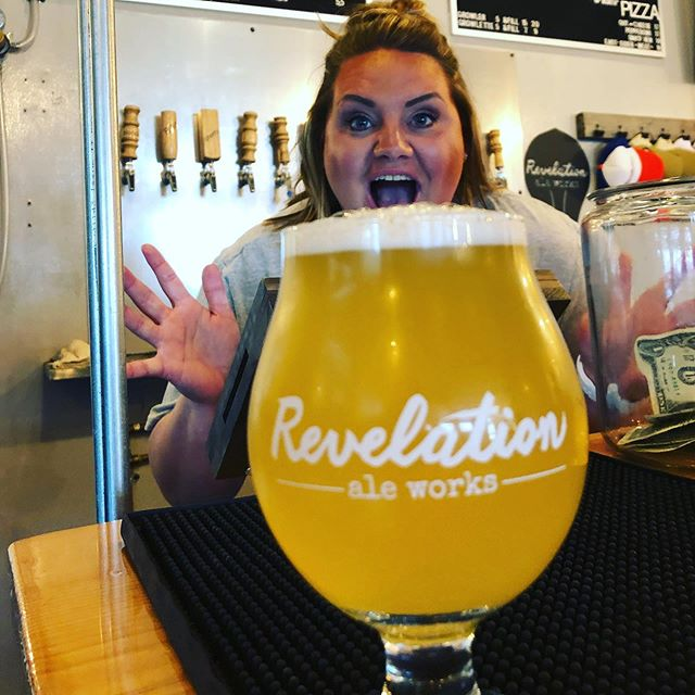 Rhubarb Blonde!!!!!! You've waited; we made it! Come and get it! Taproom only, because there's not much. See you soon. . . #itsarevelation #revelationaleworks #drinklocal #craftbeer #hallockmn