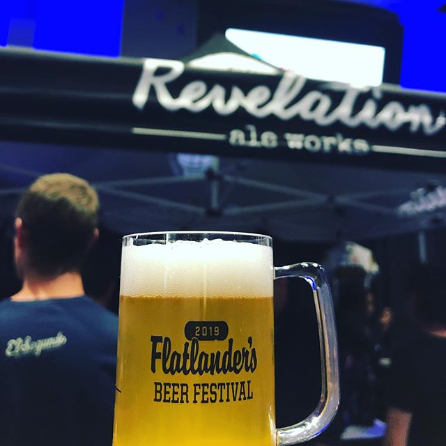 Fun at Flatlanders! Thanks for all the love Winnipeg! Can't wait to see you all again in Hallock! . . #winnipeg #manitoba #craftbeer #itsarevelation #revelationaleworks #drinklocal #hallock #flatlandersbeerfestival