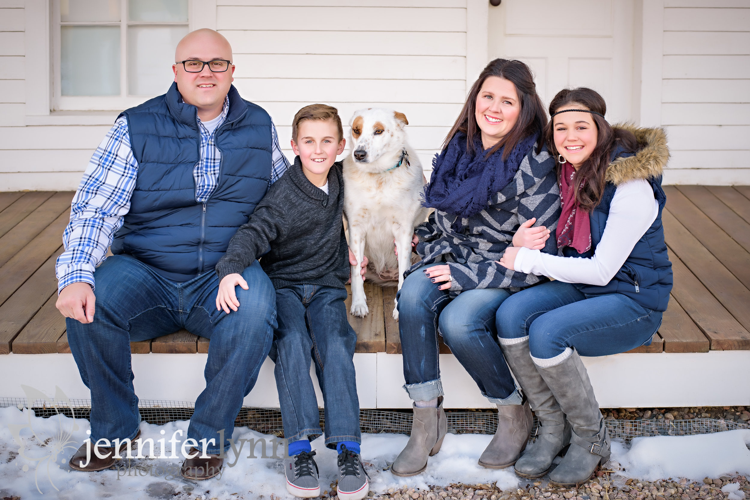Family Photo at 17 Mile House and Barn Centennial