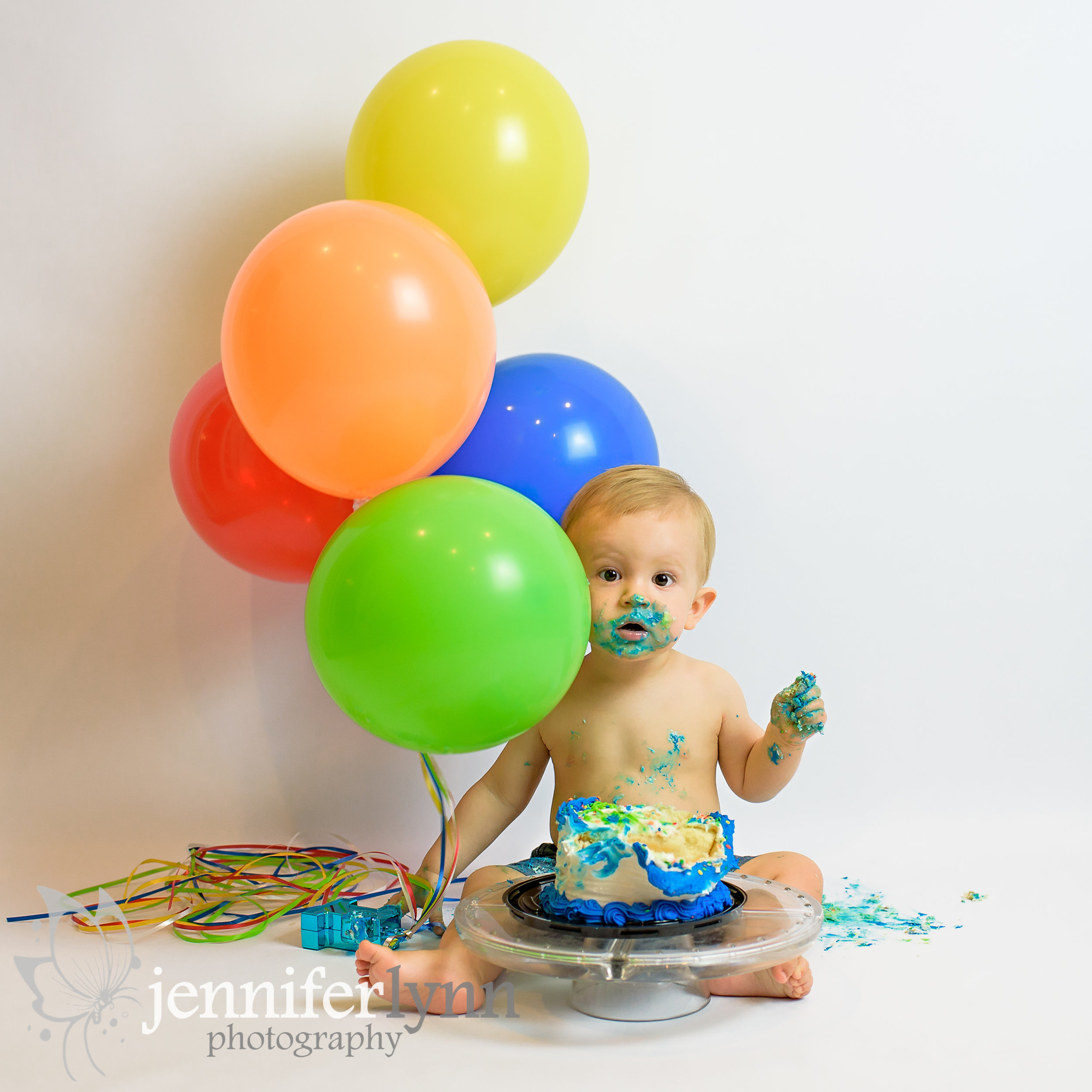 Baby-Cake-Smash-Milestone-Jennifer-Lynn-Photography