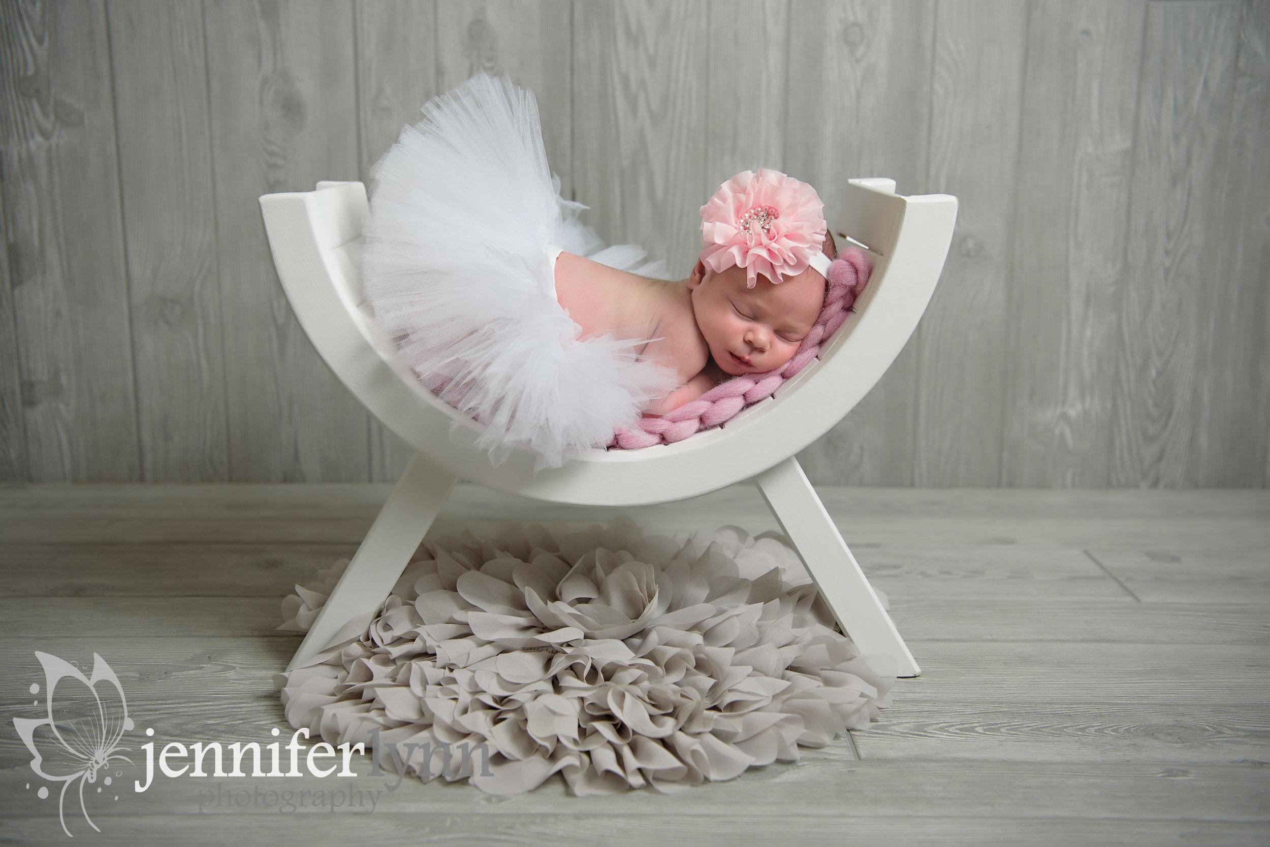 Newborn Girl Tutu U Bench