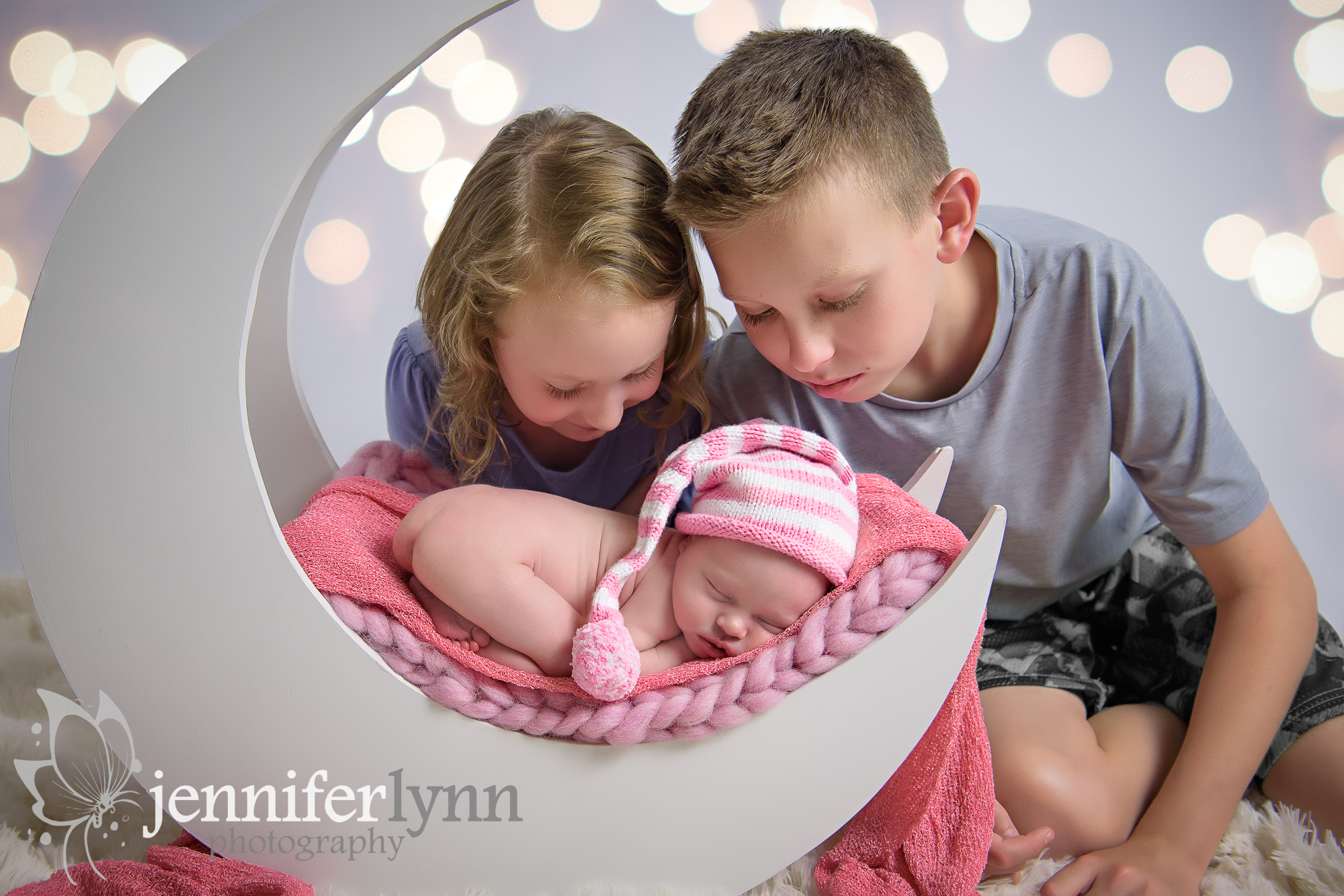 Sibling New Baby Sister