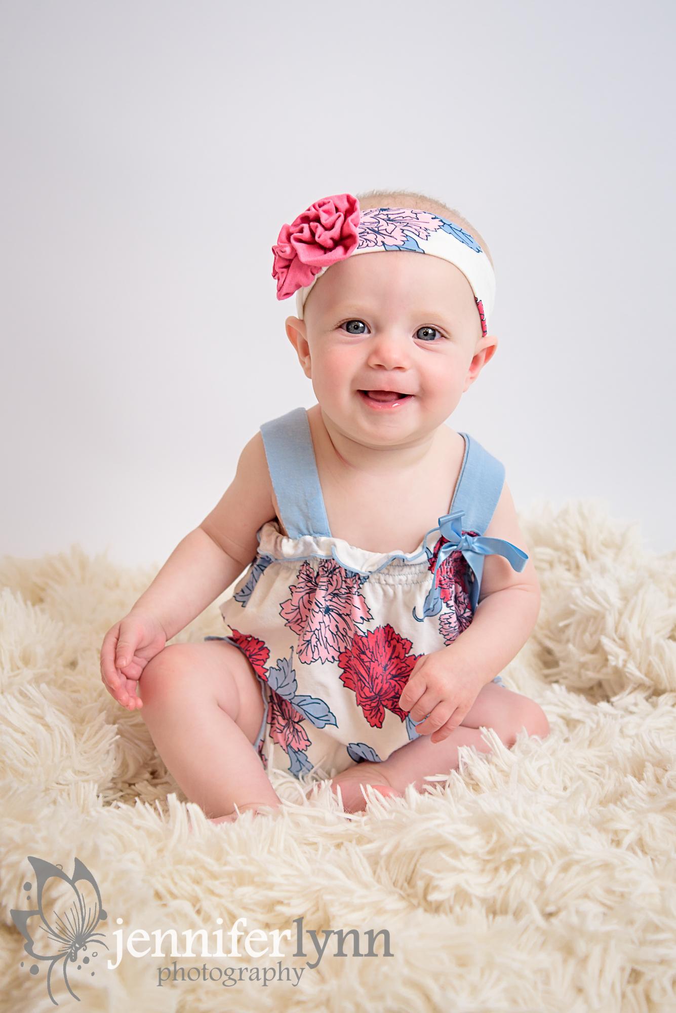Baby Milestone Sitting Session