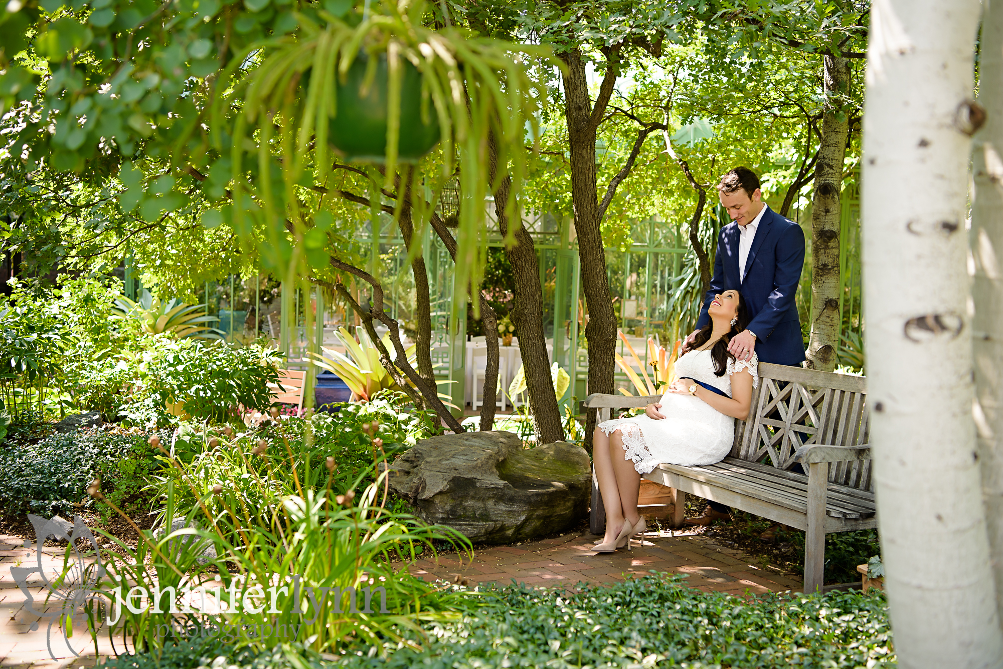 Maternity Couple Bench Gardens